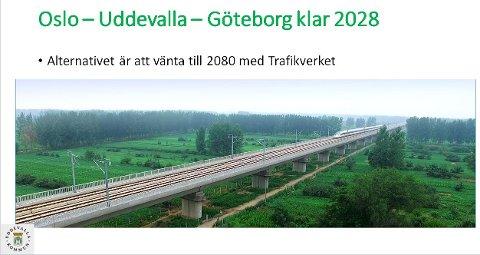 SKAGERRAKBANEN: Slik blir Skagerrakbanen presentert.