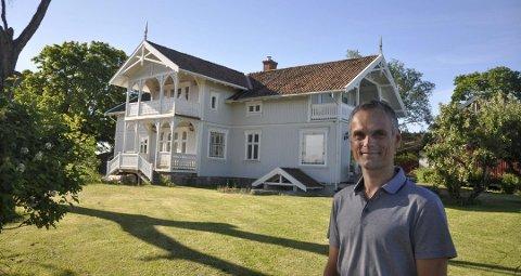 I fjor fikk Jarle Villumstad byggeskikkprisen. Arkivfoto