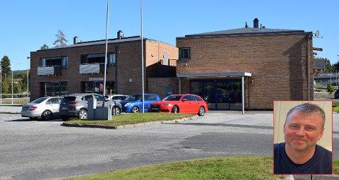 Firmaet Skogholt Tre AS ved Kjell Stillesby (innfelt) har sikret seg førsteetasjen i Trekanten 3, hvor det tidligere blant annet har vært Rema-butikk.