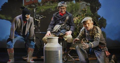 FAMILIEFORESTILLING: Riksteatret er på veien med forestillingen «Heia Flåklypa» denne høsten. Der møter vi både Solan, Reodor Felgen og de andre herlige karakterene i Flåklypa. foto: L-p lorentz