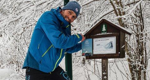 Stian Melby, Den Norske Turistforening Telemark. (Foto: DNT)
