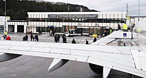 Flyselskaper som fløy fra Kvernberget betalte 11 millioner i flypassasjeravgift i fjor.