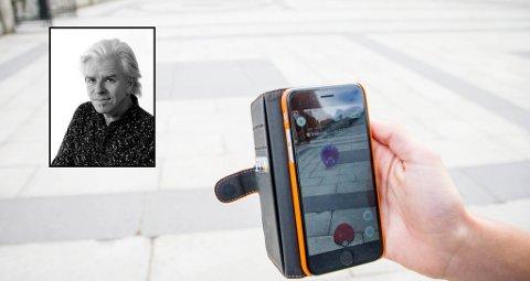 NOK NÅ: Er det noen som bør fanges, så er det Pokémon-spillerne, mener journalist Bjørn Tore Brøske.