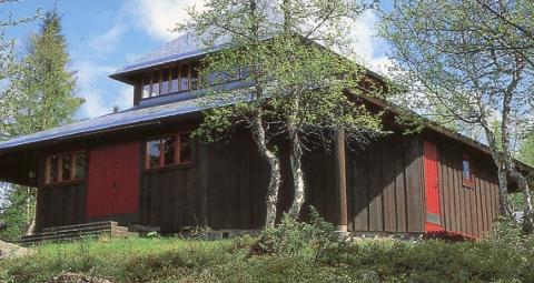 Kronerulling: Det er satt i gang kronerulling for Aurdal fjellkirke.