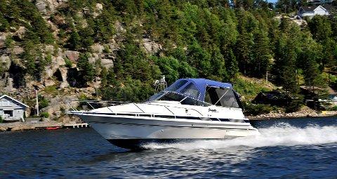 IRRITERER: Båtfolket irriterer seg over høy fart og uvettig kjøring langs Østfold-kysten.