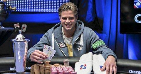 ÆRE OG PENGER: Jonathan Spæren håper å gjenta NM-suksessen fra 2015. I Stokke kan han vinne 1,5 millioner kroner.
