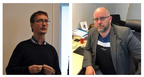Stig Hansen, Daglig leder Nordkappregionens Næringshage og  Espen Hansen, direktør Hammerfest Næringshage engasjerer seg sterkt i Nordkapp Maritime Fagskole. De mener en sammenslåing av Fagskolene i Troms- og Finnmark vil være ødeleggende for fagmiljøene i Nordkapp.