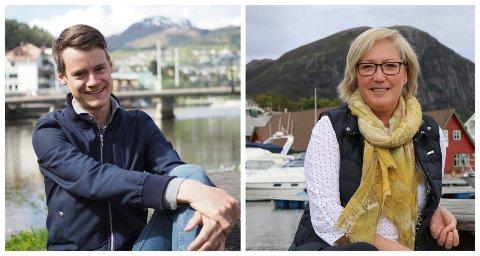 REPRESENTERT: Askvoll har dei siste fire åra hatt to representantar på Stortinget; Tore Storehaug (KrF) og Frida Melvær (H).