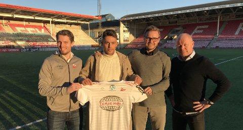 Toårskontrakt: Marius Hagen er enig med FFK om spill ut 2020-sesongen. Midtbanespilleren kommer fra Hødd og stiller på årets første trening mandag. (Foto: fredrikstadfk.no)