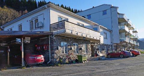 Pågrepet: Det var her, ved øyeklinikken i Narvik, Jens Kratholm ble pågrepet.