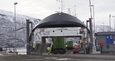 OMVEI: Skoleelever fra Kjøpsvik som går på videregående i Narvik, kan bli nødt til å ta en omveien som inkluderer ferge fra Drag.