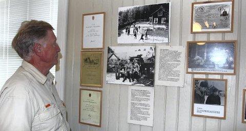 KRIGSHISTORIE: Disse bildene viser mye av hverdagslivet i Skjølåbråtan under krigen. BILDER: HANS DYBLIE