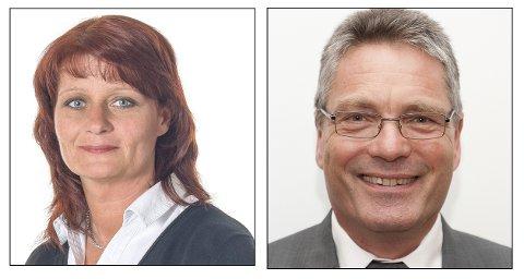 KIRSTI I TET: Spillseskapet Bettson mener Haldens neste ordfører mest sannsynlig kommer fra Ap, men det blir uansett en valgthriller mellom Kirsti Brække Myrli og sittende ordfører Thor Edquist (H).