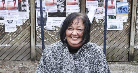 I FULL SVING: Bente Helle Quanfouh har fungert som leder Fagforbundet Halden og Aremark siden august i fjor. Nå er hun valgt som leder for de neste to årene.begge foto: Øivind Kvitnes