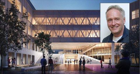 MOT: Fridtjof Dahlen (SV) håper det nå blir flertall i kommunestyret i Halden for å stanse prosjektet med storskole på Os.