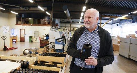 INVESTERTE: Bjørn Apeland solgte Steinsvik-gruppen til trønderkonsernet Kverva i 2017, og innkasserte flere hundre millioner i gevinst. Apeland har reinvestert i bl.a. Hawk Robotics på Husøy og Bømlo-rederiet Napier. Arkivfoto: Alf-Robert Sommerbakk