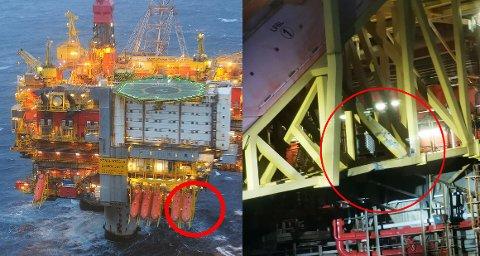 Livbåstasjonen på Statfjord A-plattformen ble skadet i et sammenstøt med Supplyfartøyet PSV Sjøborg  i Nordsjøen. Det var 276 personer ombord på plattformen og 12 om bord på supplyskipet. Ingen skal ha blitt skadet.