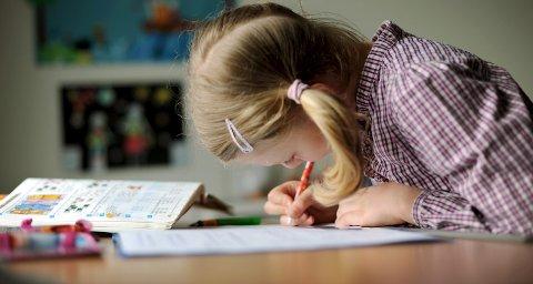 Lekser: –Jeg vet m mange barn som ikke får gjort lekser, skriver Håkon fra Kirkebygden skole. foto: scanpix