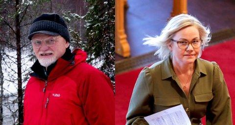 VANSKELIG SAK: Fylkesleder i Trøndelag Arbeiderparti, Ingvild Kjerkol, forteller til NA at hun kommer til å kontakte Knut Berger, leder i Namsskogan Arbeiderparti, for å ha en åpen diskusjon om hva som har angivelig har skjedd i saken.