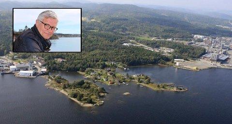 Har troen: Roy Vardheim (innfelt), styreleder i Frier Vest sier  det er godt å få bekreftet at Frier Vest er en av Norges mest attraktive industrilokasjoner.