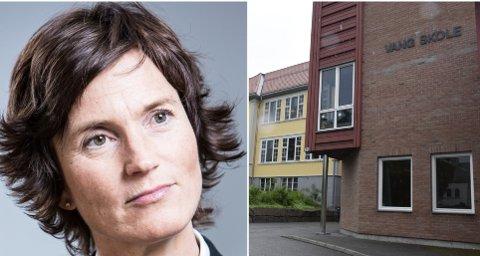 FORKLARER: Kommunalsjef Marianne Mortensen forklarer endringene i skolenes deltakelse i TV-aksjonen. Men Vang skole blir med i år også.