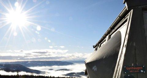 682: Forsvarets anlegg på Gyrihaugen er 682 meter over havet. Nå skal Forsvaret bygge nytt radaranlegg.