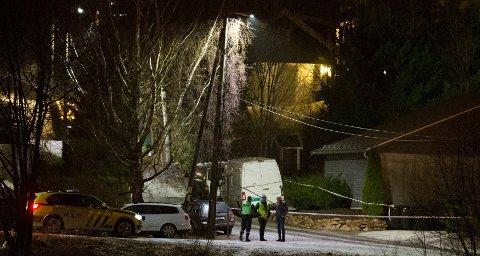 MC-KONFLIKT: 31-åringen ble drept i et hus i Asker.