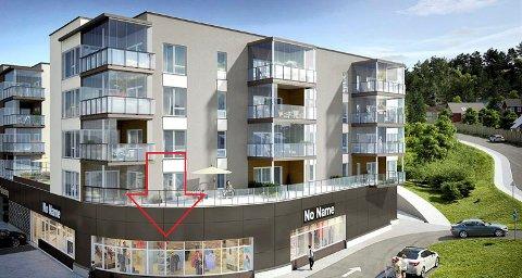 BUTIKK: I disse lokalene etablerer Lampehuset-kjeden seg sommeren 2020.