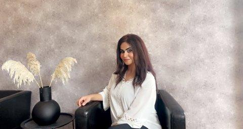NY I BYEN: Snart åpner Sasha Sajida Ahmad en ny bedrift i Storgata.