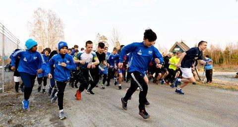 INTERESSE: Det var stor interesse for sesongåpningen av Torsdagsløpet.