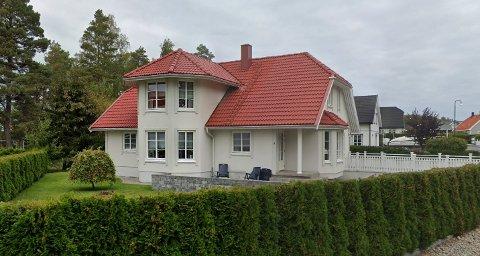 Festningsveien 7 på Greåker er solgt.
