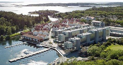 STENGT: Strömstad Spa har vært stengt siden årsskiftet. Nå kan en ny avtale mellom selskapet som driver hotellet og eierne av de 116 leilighetene trolig komme på plass om kort tid.