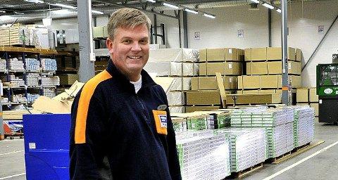 Driftssjef Ole Johan Utklev er fornøyd med salget.