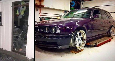 BORTE: Den sjeldne bilen er stjålet i løpet av helgen. Bileieren vet ikke hvem som kan stå bak. Foto: Privat