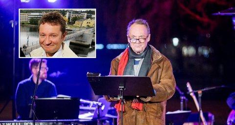 URO: Per Christian Ellefsen er en av artistene som har holdt konsert mens det ble servert suppe. Ketil Teigen fra Arbeiderpartiet gleder seg over kulturen, men blir urolig når han tenker på at det igjen er behov for sang og suppe.