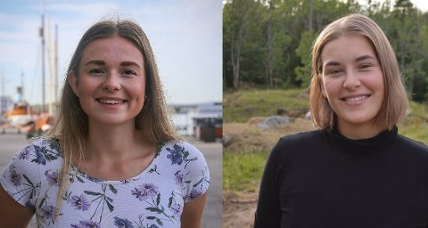 Oda Maria Hokstad og Ida Riis-Johansen