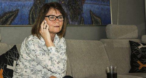 Opprørt: Bente Krystad Heiersjø, leder av planutvalget i Frogn, bor selv på Skorkeberg.
