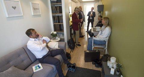 Bodø: 9. september i fjor presenterte Stephen Fu konseptet i Bodø. Foto: Per Torbjørn Jystad
