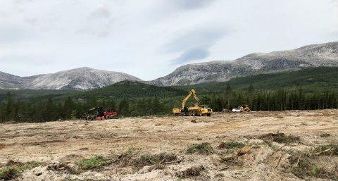 Først ut: Kobbvatnet stasjon i Sørfold kommune er første prosjekt til å ta i bruk den nye teknologien til kraftselskapet Statnett.