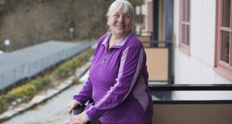 – Jeg er så glad i å møte mennesker, så jeg fortsetter å guide så lenge helsen holder, sier Maria Bruvik.