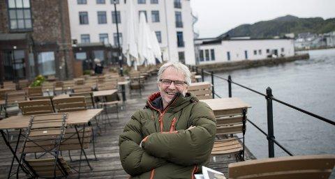 Stille før festivalstormen: Nattjazz-sjef Jon Skjerdal er i rute med planleggingen av årets festival. Nå har Trond Mohn helt overraskende bidratt med milliongave, nok en gang. Foto: Skjalg Ekeland