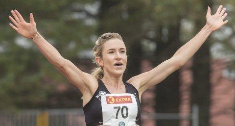 I TOPPEN: Karoline Bjerkeli Grøvdal har fått smaken på medaljar. Dei siste åra stabilisert seg i topp europeisk langdistanseløping.