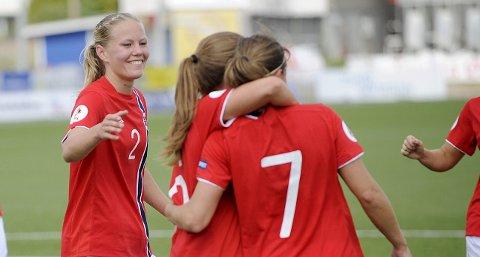 Inne: Marita Skammelsrud Lund får trolig sjansen fra start mot Tyskland torsdag. arkivfoto: scanpix