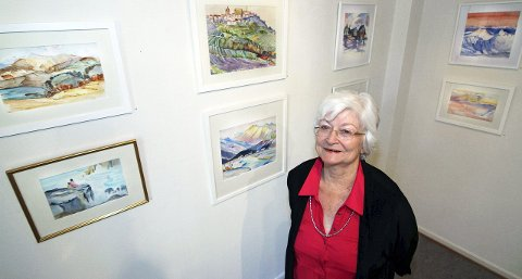 Utstillingsklar: Fra 12. september til 4. oktober stiller Carol Sjøborg ut i Fredrikstad kunstforening. Begge foto: Svein Kristiansen