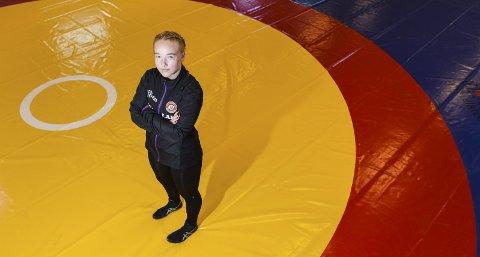 VANT: Cesilie Høivik Magnussen (16) fra Torp IF vant sin klasse i Kolbotn Cup. Foto: Kent Inge Olsen
