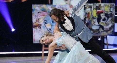 Aune Sand og Ewa Trela gikk ut av lørdagens «Skal vi danse».