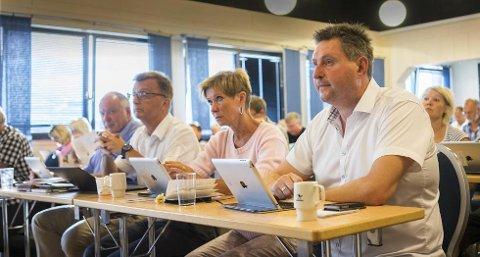 Ligger bak: Rune Edvardsen (Ap) ligger bak ordfører Tore Nysæter, på listen over hvem narvikfolket ønsker seg som ordfører de neste fire årene - skal vi tro den siste meningsmålingen fra Sentio.