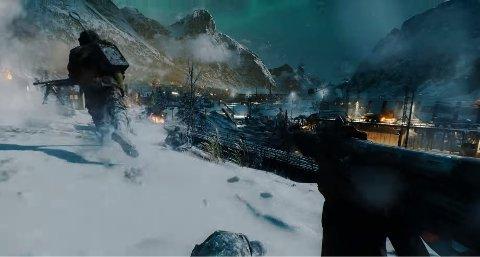 TIL NARVIK: I skytespillet «Battlefield V», som kommer til høsten, legges deler av handlingen til Narvik.