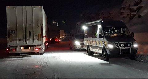 KONTROLL: 14 ble kontrollert på grensa på Bjørnfjell søndag kveld