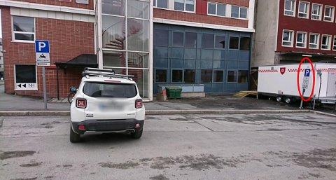 AVVIST: Narvik kommune bruker dette bildet for å avvise klagen.
